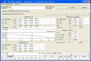 Zustandsgrenzen nach DIN 18122 Teil 1 (Eingabemaske/Messwerte Teil 1)